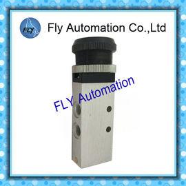 چین 0.9 - حقوقی 10bar پنوماتیک مکانیکی شیر G1 / 8 و G1 / 4 دریچه مکانیکی تامین کننده