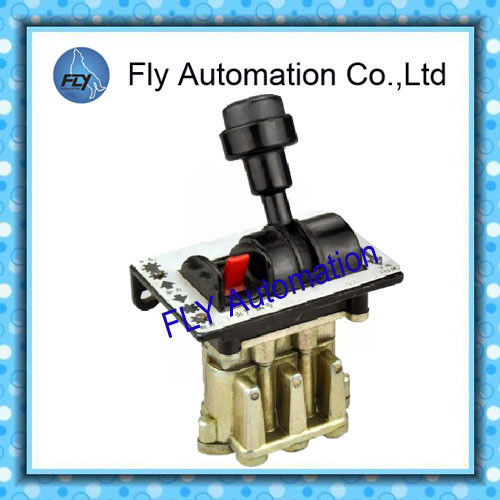 PTO control valve six port 3 way distributor valve reset position with lock Lamp for PTO insert indication
