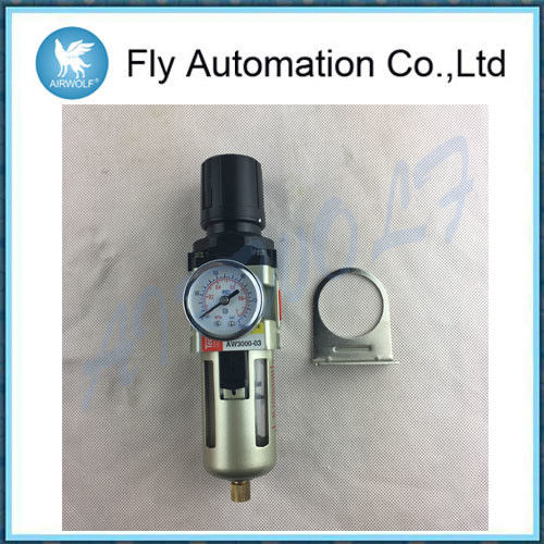 Techno Air Preparation Units Regulator Filter SMC Automatic Drain AW3000-02 AW3000-03 G1/4 G3/8
