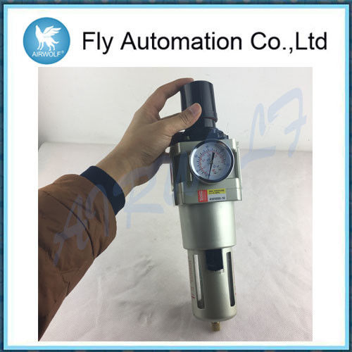 Techno Air Preparation Units G3 / 4 G1 Regulator Filter With Automatic Drain