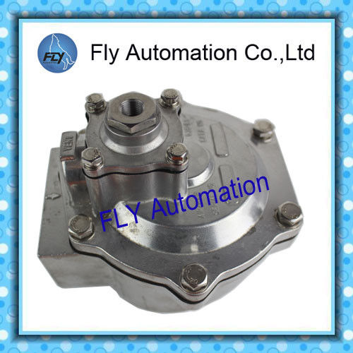 "0.35-0.85Mpa 2 "" G353A048 ASCO Angle Type Body Pulse Jet Valves For Dust Collector Service"