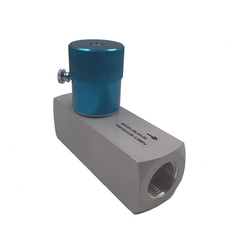 Aluminum Alloy QLAH-20 G3/4 High Pressure Throttle Valve One Way Simple Structure
