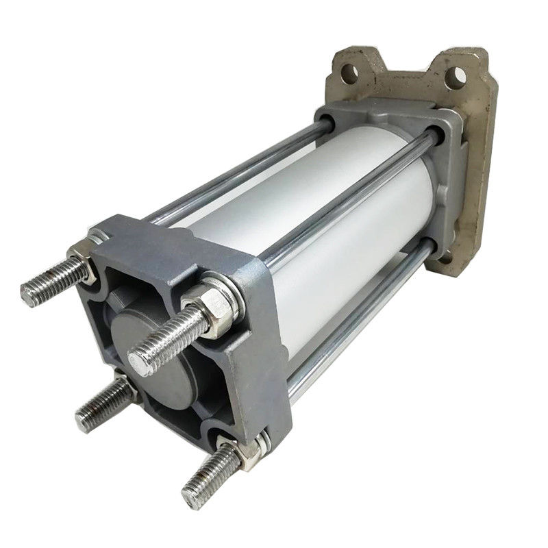 Aluminium Alloy SC Series Double Acting Pneumatic Cylinder High Efficiency