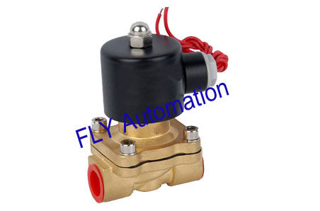 16mm Orifice Unid 2 Way Brass Water Solenoid Pressure Valves 2W160-15