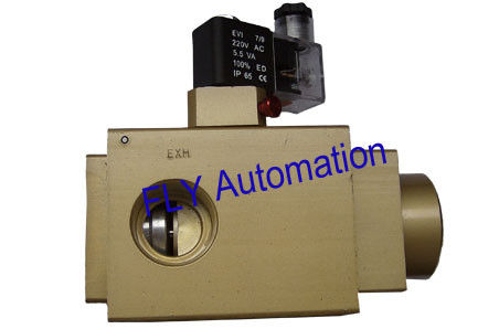 "Pneumax 3/2 Way 220V, 771. 32 .0.F.M2 , 25mm, 1"" Pneumatic Solenoid Controlled Valves"
