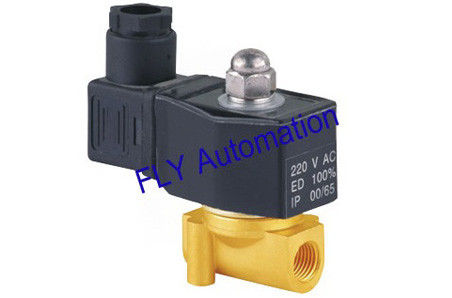 "0-20Bar 2 way 1/4"" UNID High Pressure Direct-Acting Conductive Water Solenoid Valves"