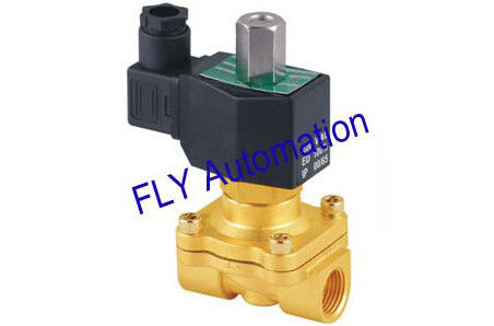 "220VAC  Normally open 3/8"" Diaphragm Brass Or Zinc Alloy Water Solenoid Valve 2WT160-10"